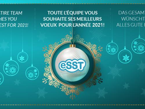 Meilleurs vœux 2021 au nom de l'équipe eSST