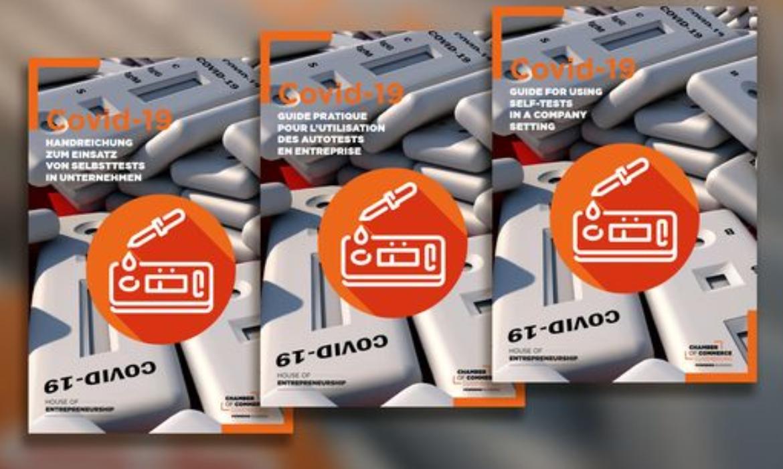 Guide pratique pour l'utilisation des autotests mis à disposition de 73.000 entreprises et professions libérales, édité par la Chambre de Commerce de Luxembourg