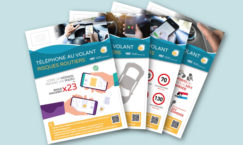 eSST lance sa série d'affiches en prévention Sécurité Santé au Travail